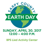Sarpy County Earth Day Celebration Planned for Sunday, April 30th in Bellevue