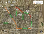 Bellevue Public Works Department Announces Next Phase of Harvell Drive Improvements to Begin on Friday, October 21st