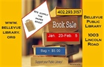 Bellevue Public Library Holding Used Book Sale