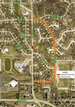 Lincoln Road between Cascio Drive and Bellevue Boulevard South to Close on Friday and Saturday for Pavement Repairs