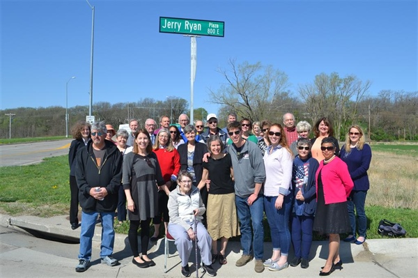 "City of Bellevue Names Entrance Road into American Heroes Park as ""Jerry Ryan Plaza"""