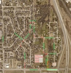 City of Bellevue Currently Conducting Pavement Improvements in Areas North of Chandler Road between 18th Street and 25th Street.