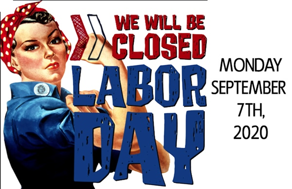 Bellevue City Offices Closed on Monday, September 7th in Observance of Labor Day