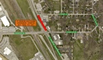 Northbound Lanes of Ft. Crook Road to be Closed from Chandler to Sidney St. for Storm Pipe Repair